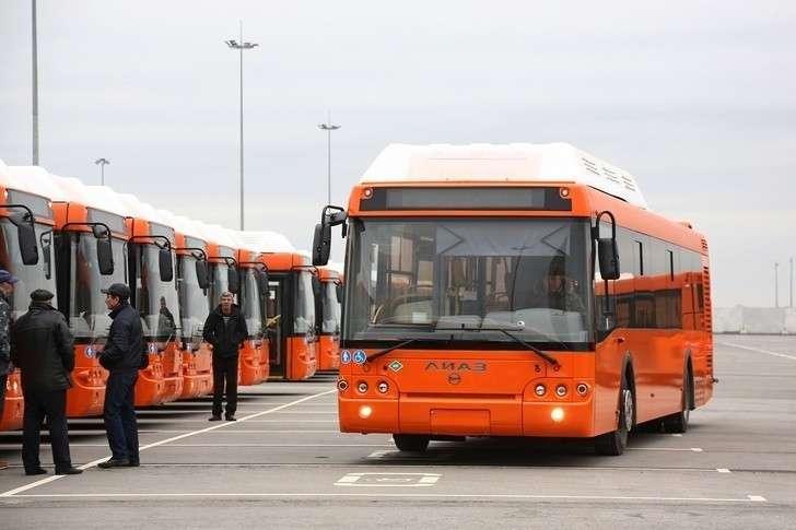 Еще 74 новых автобуса «ЛиАЗ» прибыли в Нижний Новгород