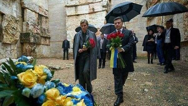 Президент Украины Владимир Зеленский во время рабочей поездки в Израиль