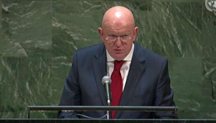 Небензя в ООН призвал не закрывать глаза на проявления нацизма
