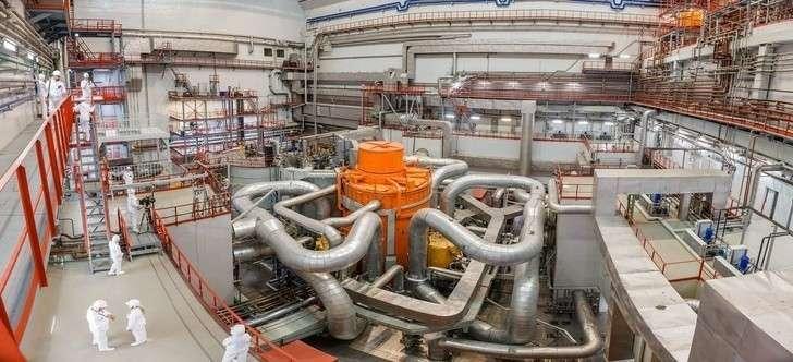 В реактор БН-800 загружена первая серийная партия МОКС-топлива