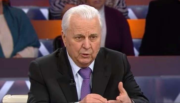 Старый маразматик Кравчук начал бредить в прямом эфире