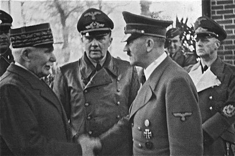 Французские союзники – друзья Гитлера. За фюрера воевало больше французов, чем против