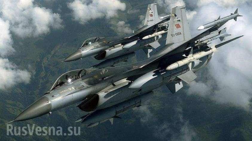 Турция наносит массированные удары по позициям сирийской армии