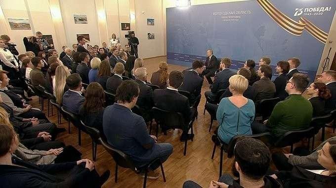 Встреча с представителями общественности Вологодской области