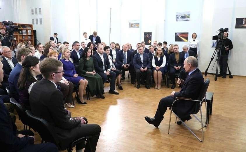 Встреча с представителями общественности Вологодской области.