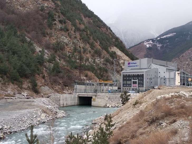 «РусГидро» ввела в эксплуатацию Зарамагскую ГЭС-1 мощностью 346 МВт