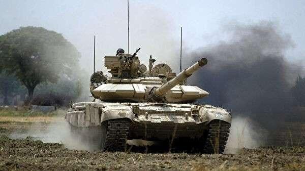 Танк Т-90 индийской армии