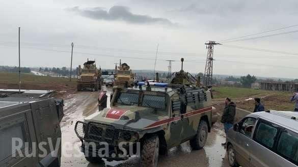 Конфликт солдат России и США в Сирии: ругались и хватались за оружие | Русская весна