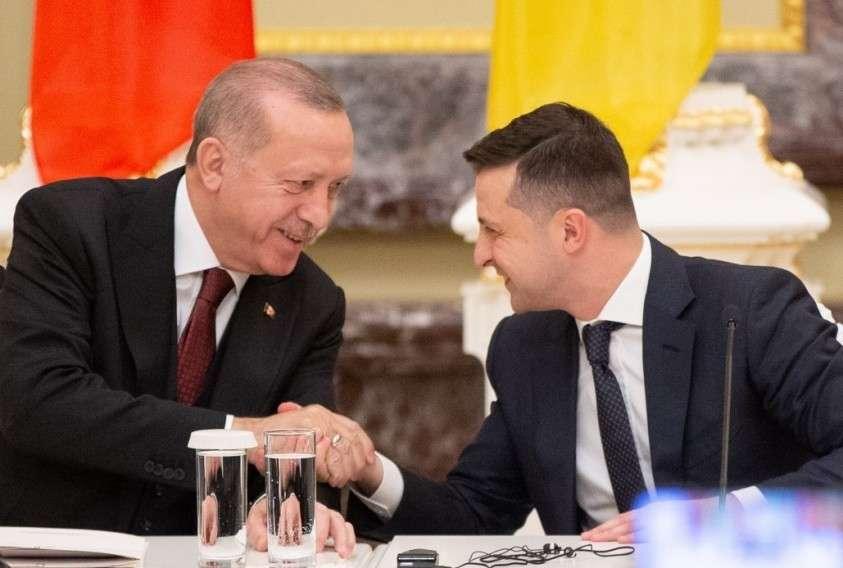 За что на самом деле Эрдоган дал Зеленскому 50 миллионов?