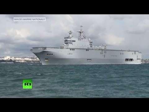 Франция не выполнила соглашение по «Мистралям»