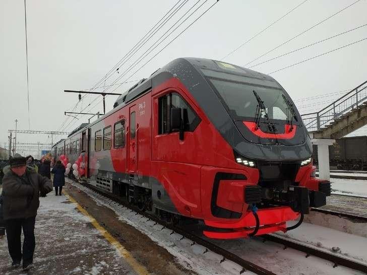 Во Владимире запустили первый рельсовый автобус РА-3 между городами