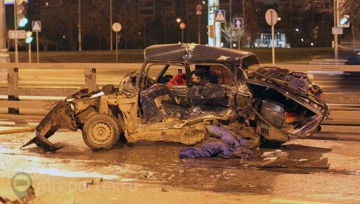 Авария на Каширке в Москве: погибли четыре человека