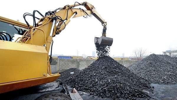Каменный уголь, архивное фото