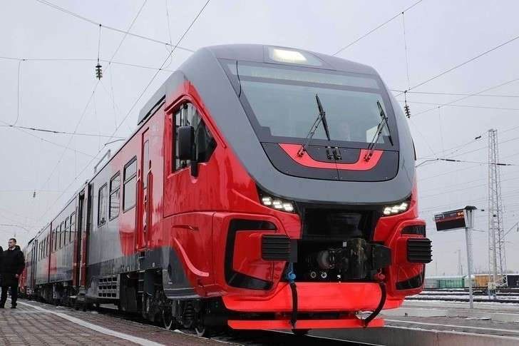 На СКЖД поступило 3 рельсобуса производства АО «Метровагонмаш»