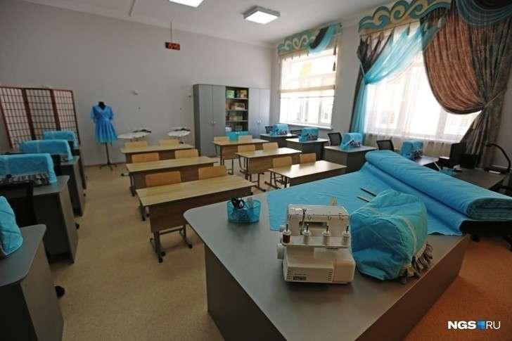 В Новосибирске открыли новую школу для 1100 учеников