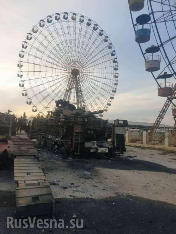 Сожжена колонна армии Турции войсками Башара Асада | Русская весна