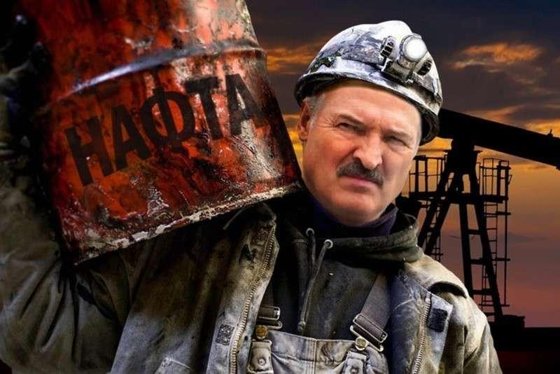 Белоруссия использует технологическую нефть из