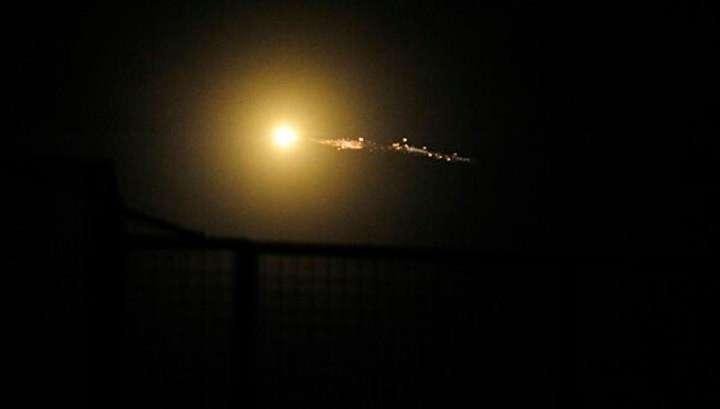 Террористический Израиль нанёс по Дамаску ракетный удар