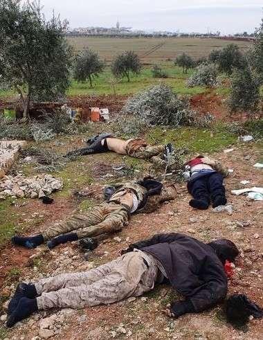 Сирия. Идлиб завален трупами и сожжённой турецкой бронетехникой
