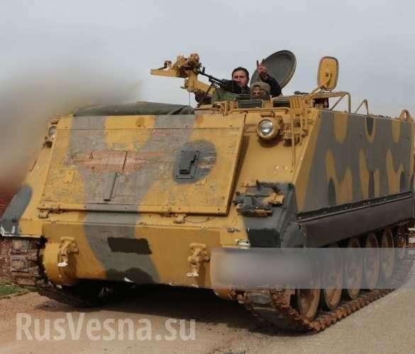 Сирия. Идлиб завален трупами и сожжённой турецкой бронетехникой | Русская весна
