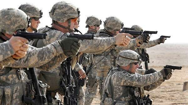 Американские военные в Басре, Ирак