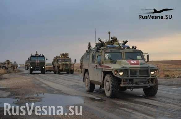 Сирия: после поражения спецназ Турции эвакуируется под конвоем российской армии | Русская весна