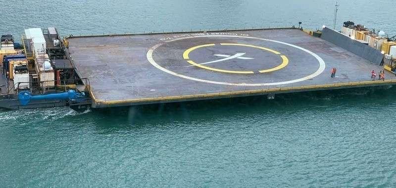 Ракета-носитель Falcon 9 промахнулась мимо платформы и упала в Атлантический океан