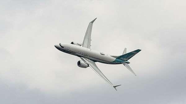 Самолет Boeing 737 Max