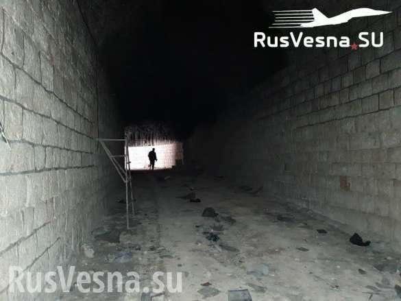Русские и сирийские военные вскрыли огромный подземный город террористов   Русская весна
