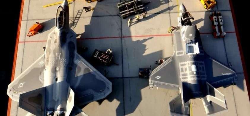F-35 и F-22 долетались: русские «поджарили» два американских самолёта-невидимки пятого поколения