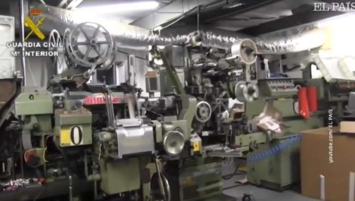 В Испании «раскопали» подпольную подземную табачную нарко-фабрику с нелегальными рабочими из Украины