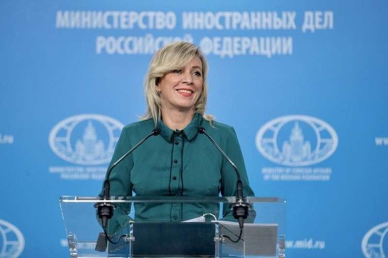 Мария Захарова провела еженедельный брифинг МИД России 20.02.2020