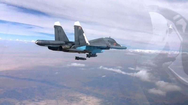 Сирия. ВКС России ударили по турецким боевикам. Подробности