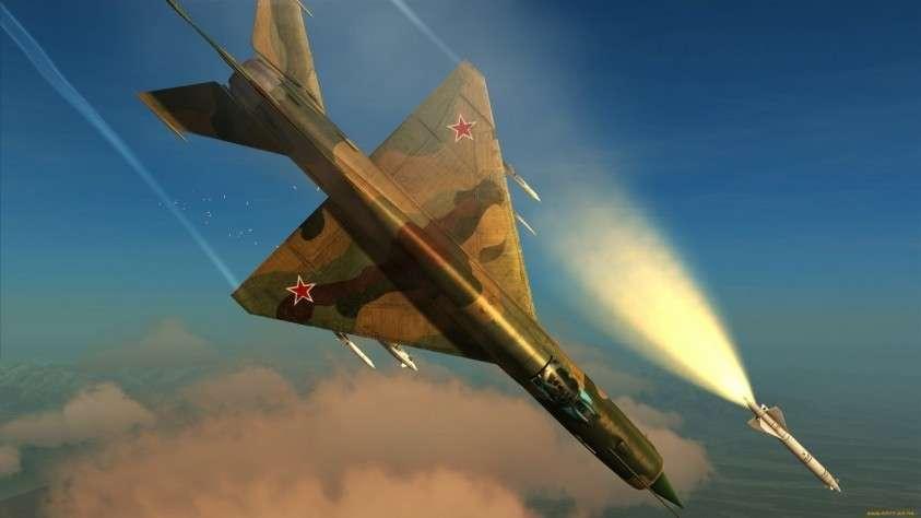 Красавец-старичок МиГ-21, надежный и простой как калашников