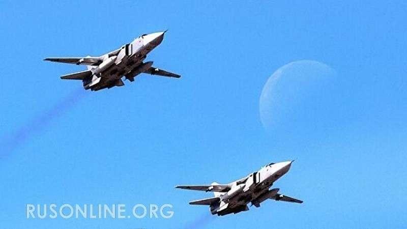 ВКС России остановили турецкую колонну в Сирии