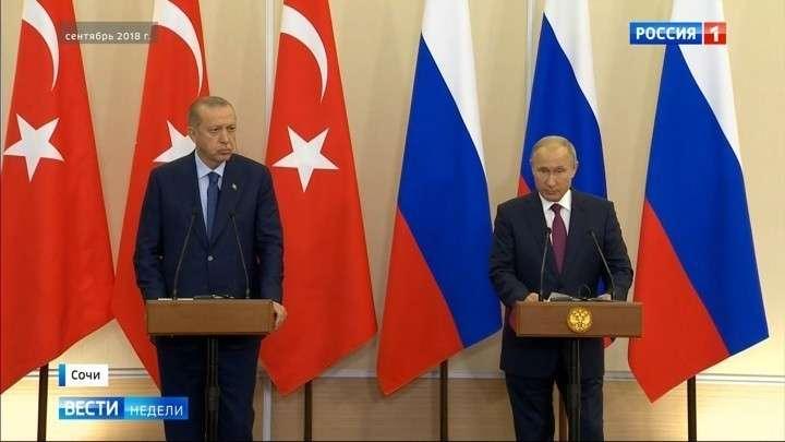 Обострение в сирийской провинции Идлиб: Путин напомнил Эрдогану, что тот не у себя дома