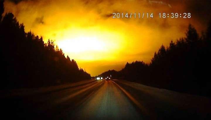Похоже, что над Уралом взорвался ещё один «Челябинский метеорит»