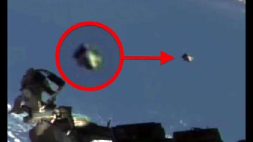 Видео дня. НЛО шло рядом с МКС почти 20 минут