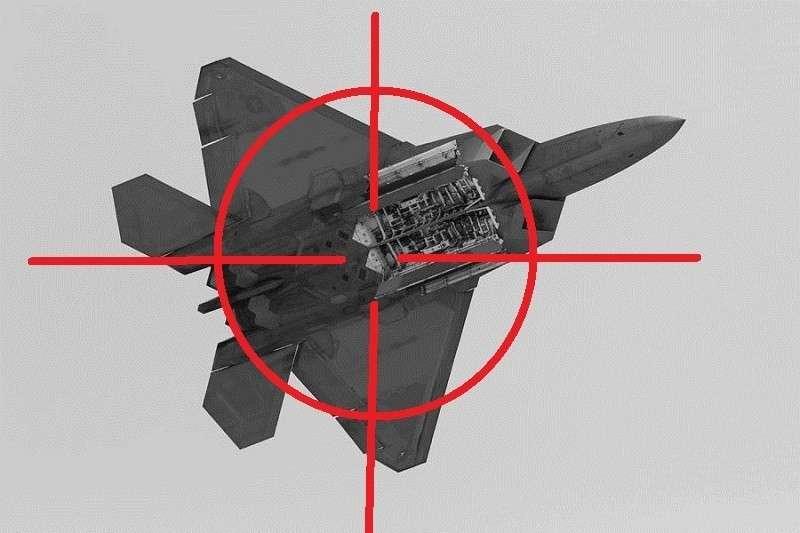 Война в Сирии: F-22 и F-35 нарвались на «Красуху-4» и сломались