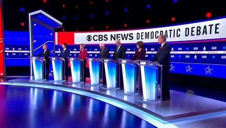 Теледебаты демократов: два главных героя – Россия и Трамп