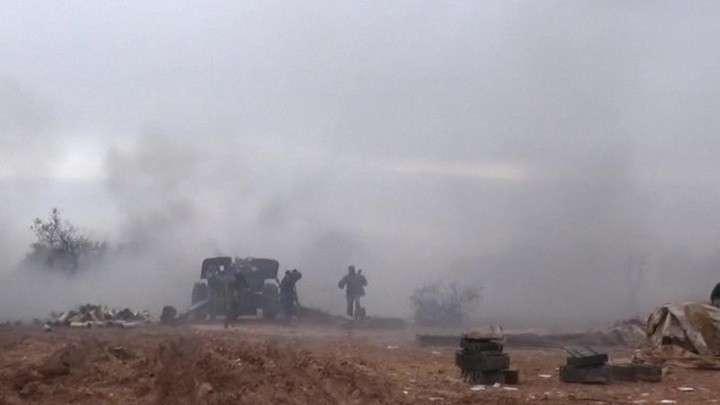 Турция в Идлибе наносит удары по позициям сирийских правительственных сил