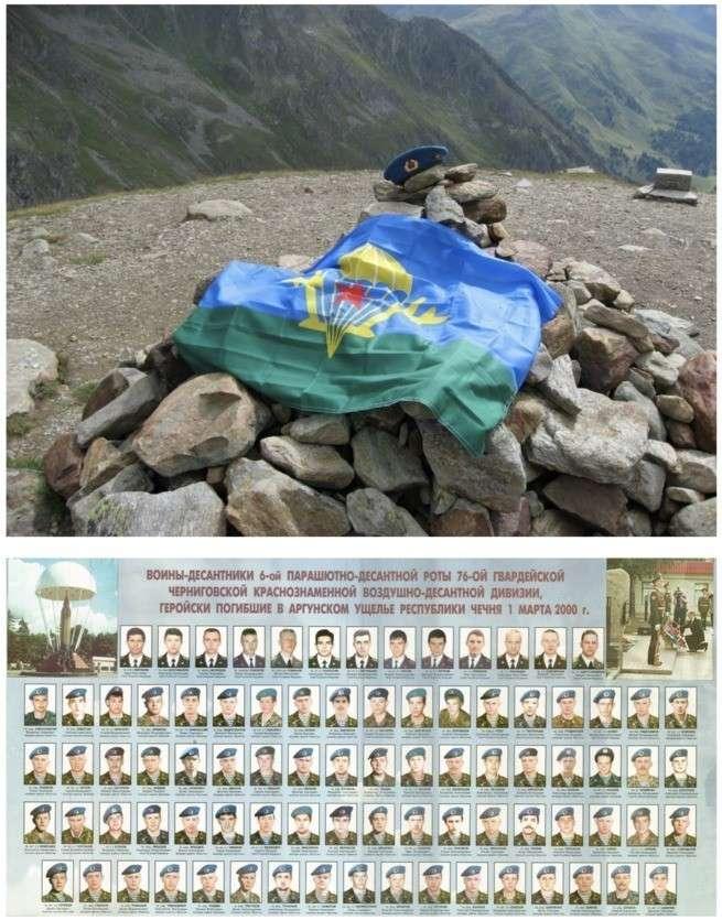 Бой у высоты 776: подвигу воинов-десантников 6-й парашютно-десантной роты посвящается