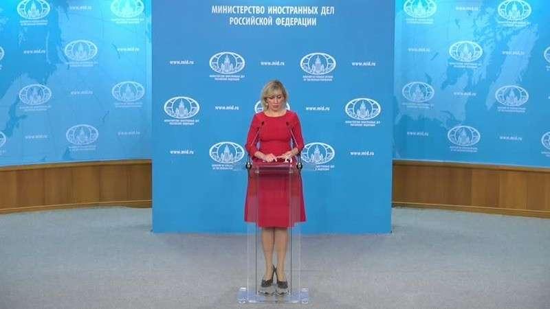 Мария Захарова провела еженедельный брифинг МИД России 27.02.2020