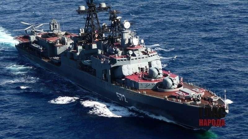 Дорогу в Германию «Северному потоку-2» пробьют пушки и ракеты ВМФ России