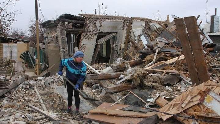 Большая часть Донецка осталась без воды после атак карателей