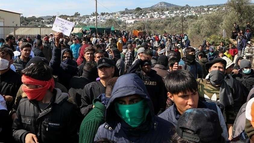 Евросоюз направляет в Грецию силы для охраны границ от мигрантов