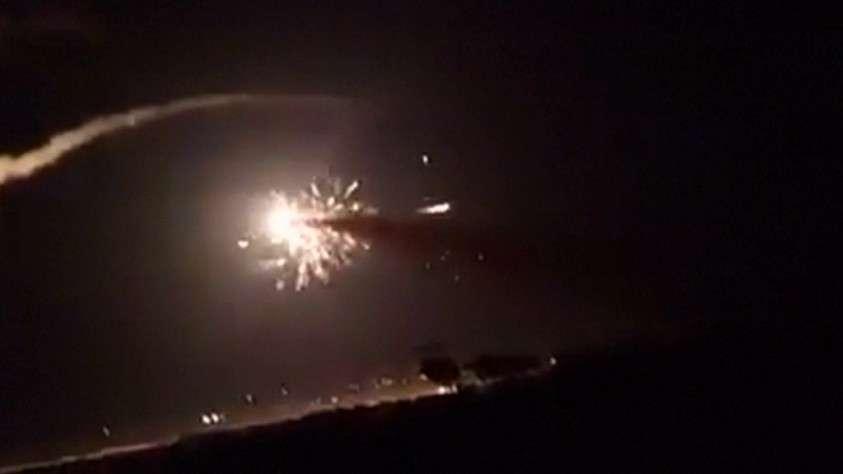 ПВО Сирии успешно отразила ракетную атаку израильских террористов