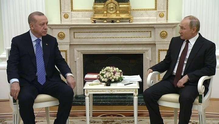 Владимир Путин: ситуация в сирийском Идлибе требует прямого диалога с Эрдоганом