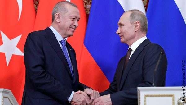 Путин уложил Эрдогана на «обе лопатки» по Идлибу