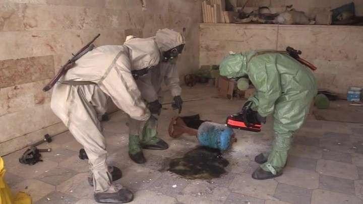 Боевики планировали химическую атаку в сирийском Серакибе но стали её жертвой
